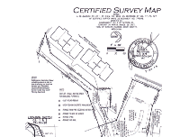 thumbnail of certified survey map - lakefront lot