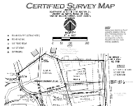 thumbnail of certified survey map - north end