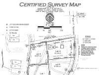 thumbnail of certified survey map - south end